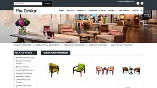 Pro Design Hotel Furniture